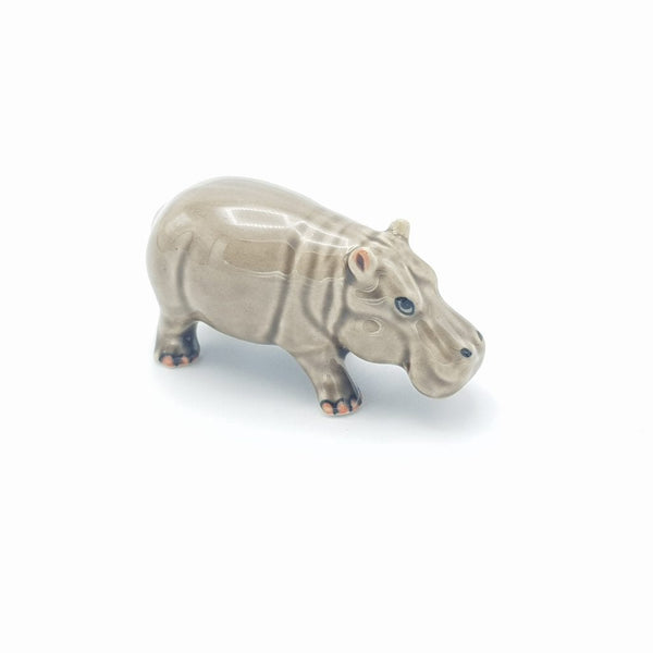 Ceramic Hippo, beautifully presented and a fantastic gift for any hippo lover.