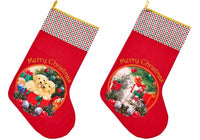 Christmas Furry Friends Christmas Stockings