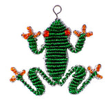 Beaded Keyring Frog