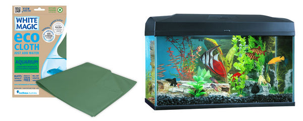 White Magic Aquarium Cloth