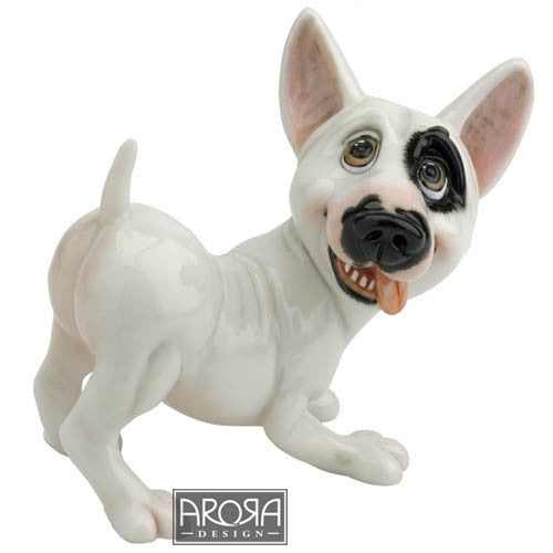 Aroma - Little Paws - Billy English Bull Terrier statue
