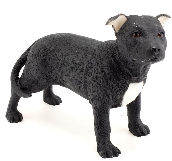 Leonardo Collection Dog - Bull Terrier Black & White