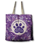 ECO Bag - My Therapist has Fur and Four Paws