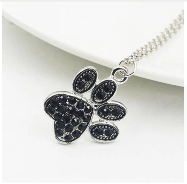 Dog or Cat Paw Chain Necklace