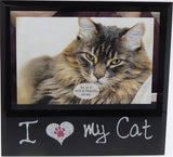 Glass Photo Frame - I Love My ...