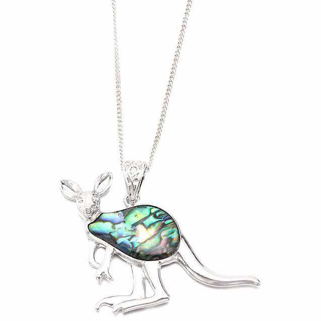Kangaroo Paua Shell Necklace