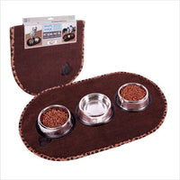 Large Pet food mat