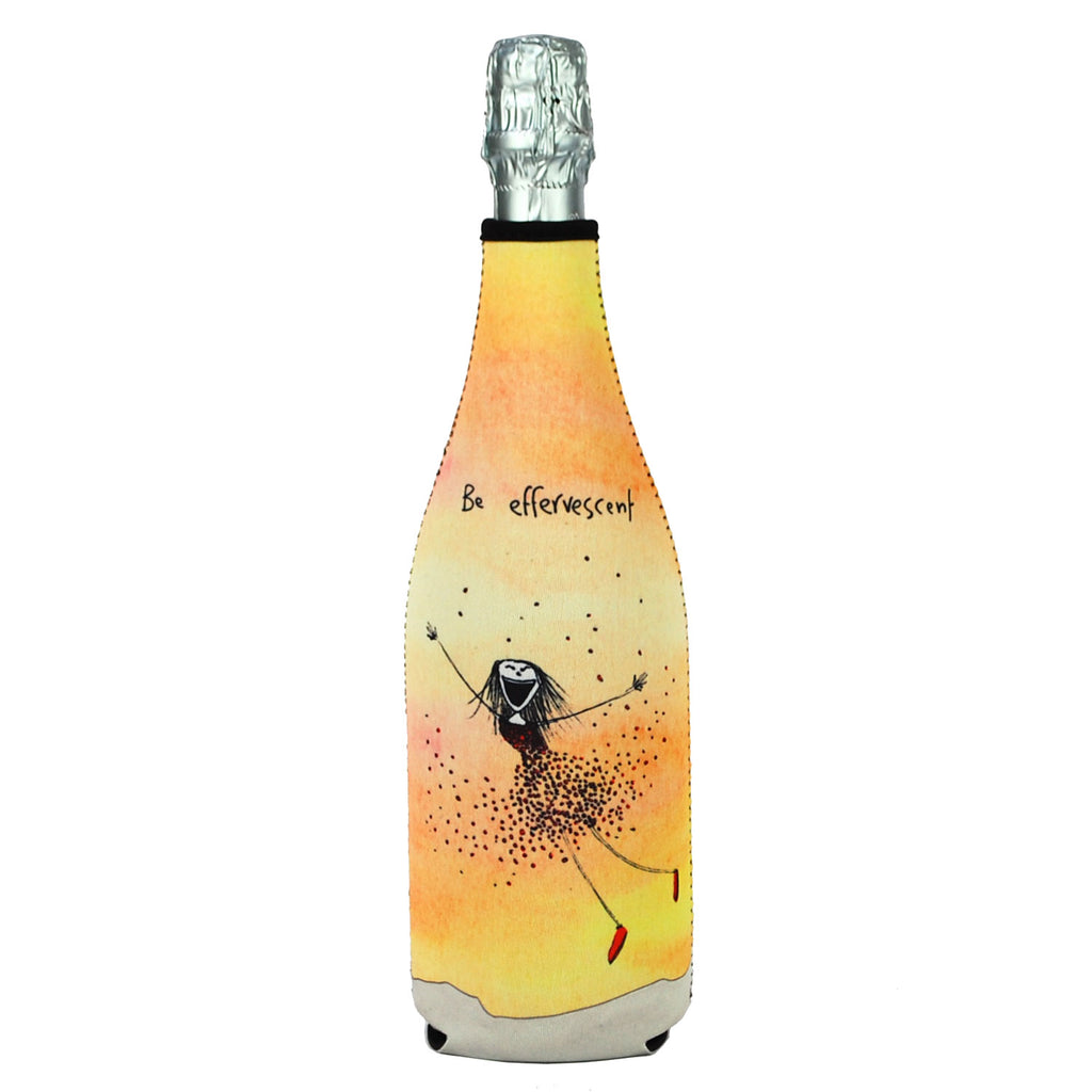Champagne Bottle Cover - Be Effervescent