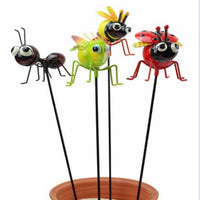 Garden Insects on Stakes - 50cm in height each - sold separately