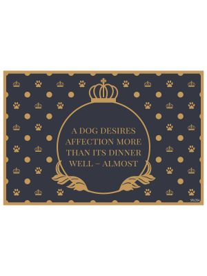 Fine Dining Pet Placemats - for one