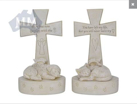 Memorial Cross - Cat or Dog