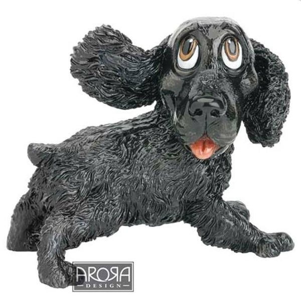 Jarvis - Black Cocker Spaniel - Little Paws