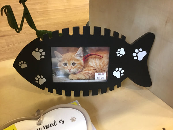 Black Photo Frame - Dog or Cat