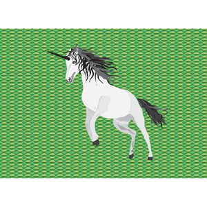 Unicorn  on Green