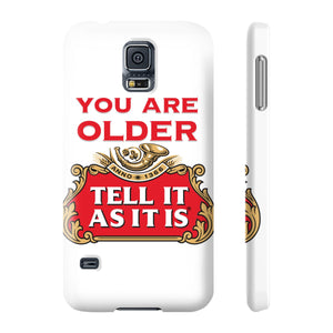 Phone Case - Stella Artois - Tell It As It Is - Personalisable with a name and age!