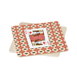 Diamond Geezer - Square Paper Coaster Gift Set - 6pcs