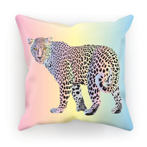 Rainbow Snow Leopard Gift Cushion