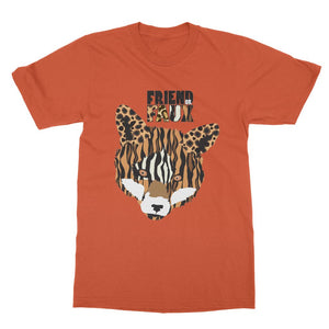 FRIEND OR FAUX Fox Softstyle Ringspun T-Shirt