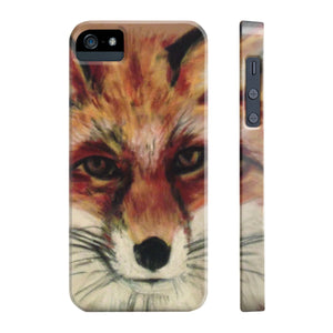 Phone Case - Wiley Winter Fox