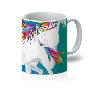 Rainbow Unicorns Mug