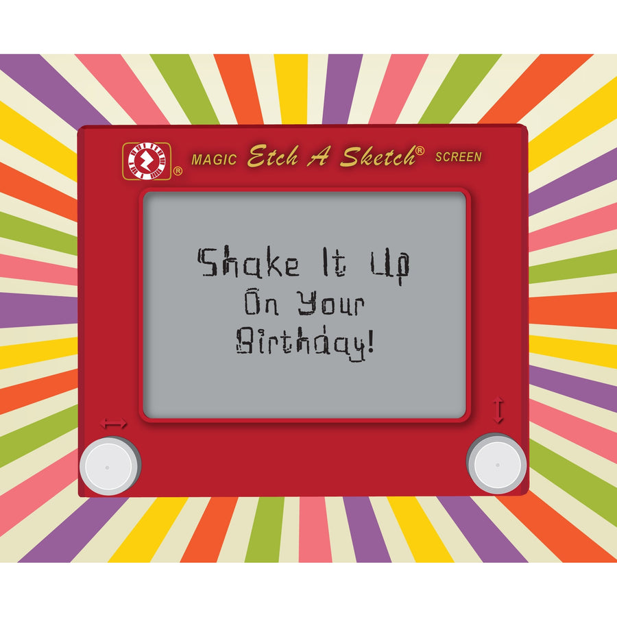 etch-a-sketch augmented reality greetings