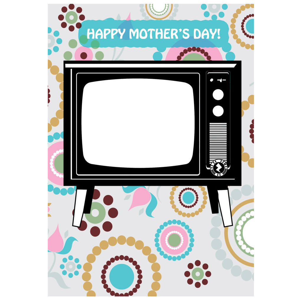 Zapz mothers day retro television tv video augmented reality zapz mothers day retro television tv video augmented reality greeting card m4hsunfo