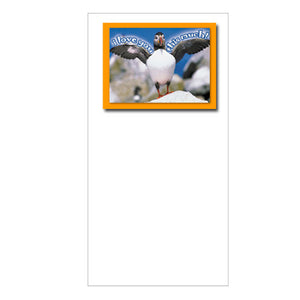 FotoFitz - 'Love You Puffin' - Greeting Card