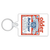 Budweiser Older Butwiser Key Ring - Personalise with a name and age!