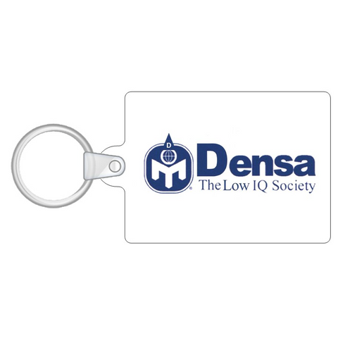 Densa Low IQ Society Key Ring