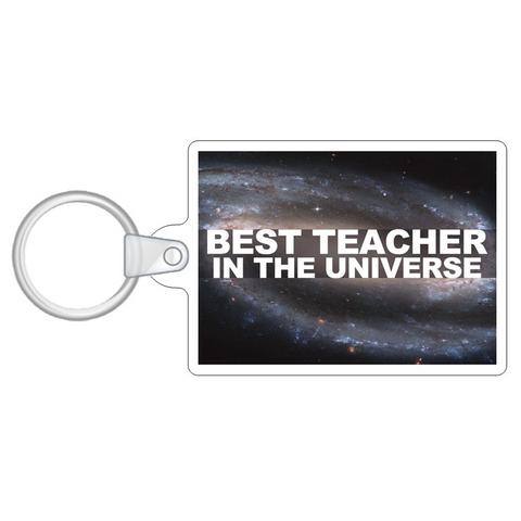 Best Teacher in the Universe Key Ring