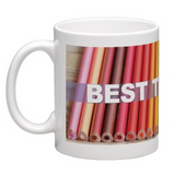 Coffee Mug - Best Teacher Coloured Pencils