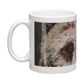 Coffee Mug - Beautiful Big Brown Bear