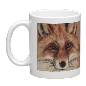 Coffee Mug - Wiley Winter Fox