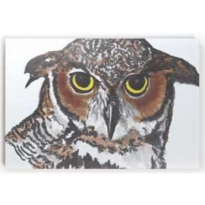 Horizontal Canvas Print - Tawny Owl