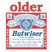 Coffee Mug - Budweiser Older Butwiser - Personalisable!