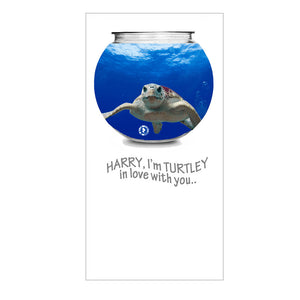 Love Zapz 'Turtley In Love' Turtle in Fishbowl Valentine's Augmented Reality Greeting Card