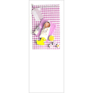 Babbles Baby Girl New Baby Greeting Card