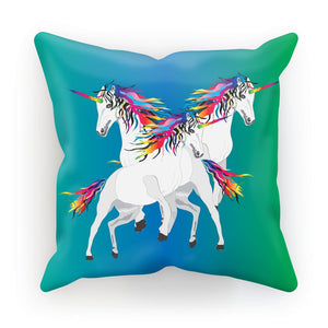 Rainbow Unicorns Cushion/Pillow