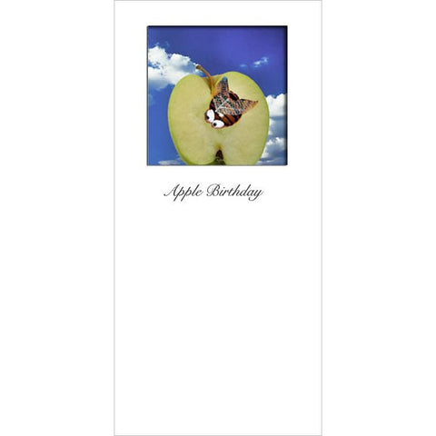 Buggles Bee on Apple Greeting Card