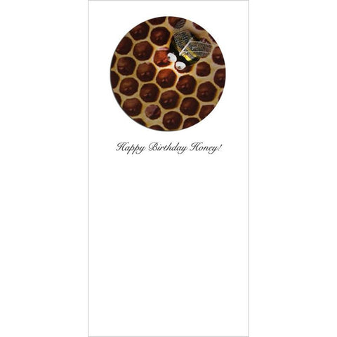 Buggles Bee on Honeycomb Greeting Card