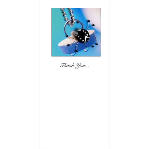 Buggles Spider on Plug Thank You For Helping Me Out! Greeting Card