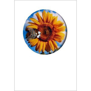 Buggles Bee and Sunflower Greeting Card