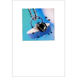 Buggles Spider on Plug Greeting Card