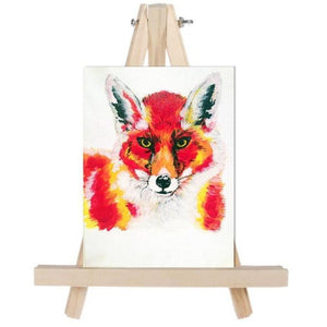 Red Red Fox Fine Art Original