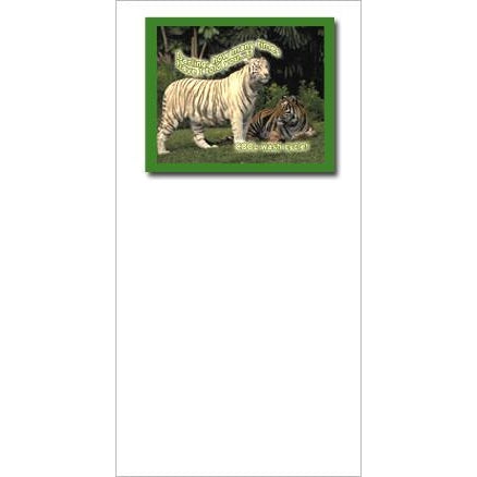 FotoFitz Tiger Fade Greeting Card