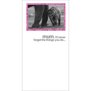 FotoFitz - Elephant Mother's Day Card