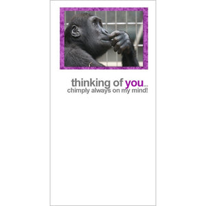 FotoFitz - Thinking of You - Chimp General Greeting Card