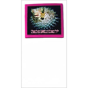 FotoFitz Puffer Fish Greeting Card