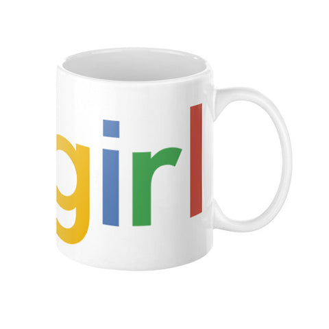 Google 'Gogirl' - Coffee Mug
