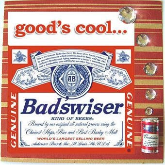 MisFitz Budweiser 'Bad'sWiser' Greeting Card